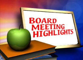 Board Highlight Presentation