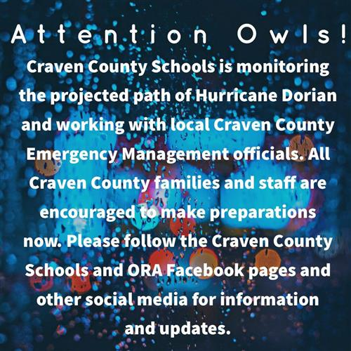 Important News from Craven County Schools