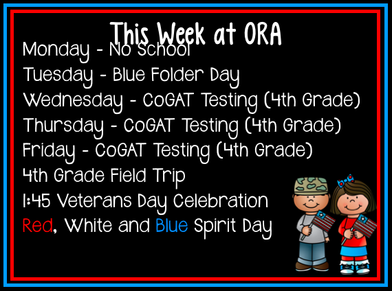 This Week at ORA