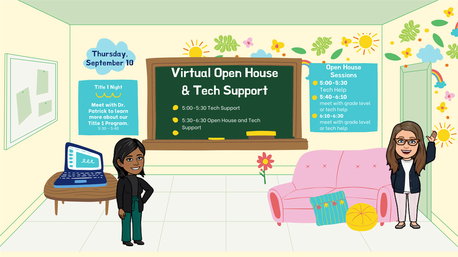 Virtual Title 1 Open House