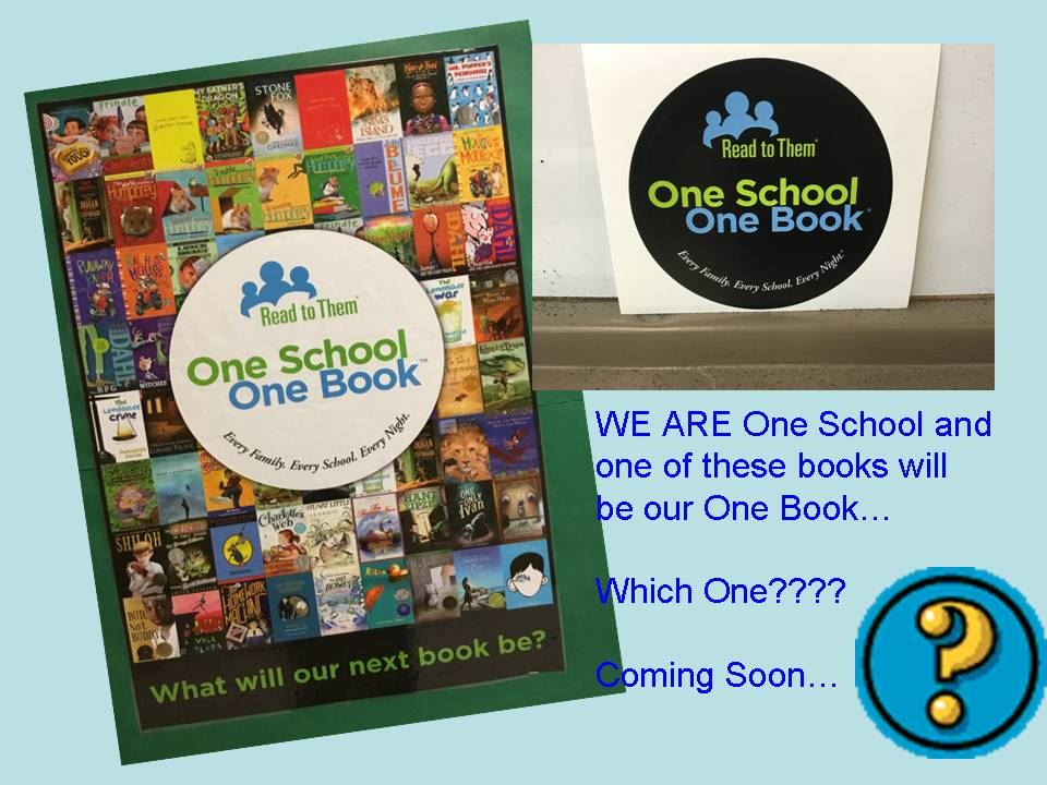 One School One Book Challenge
