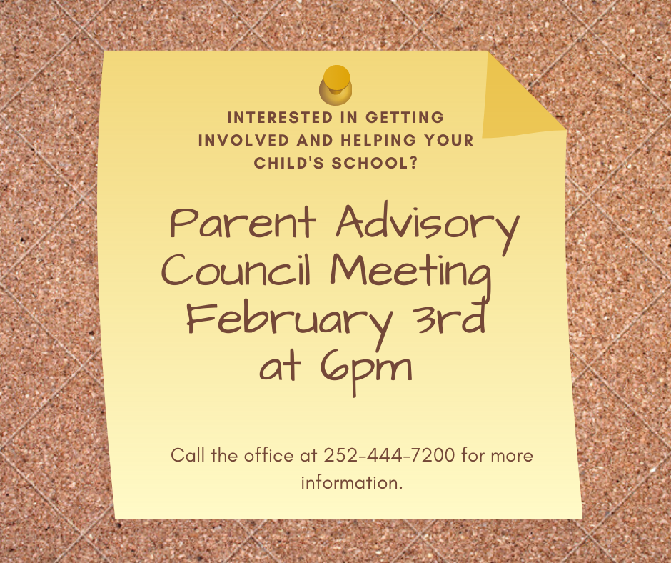 Parent Advisory Council Meeting
