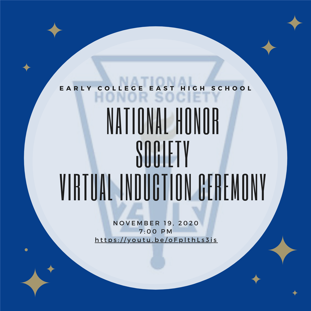 NHS Virtual Induction Ceremony