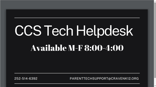 CCS Tech Helpdesk