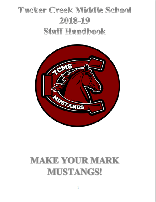TCMS Faculty Handbook 2018-2019 / Overview