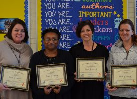 Arthur W. Edwards Elementary spotlighted their Multi-Tiered System of Support (MTSS) team