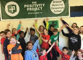 Positivity Project at Brinson Memorial Elementary School