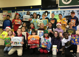 Students Learn the Importance of Giving During the Holiday Season