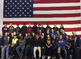 NEW BERN HIGH SCHOOL NJROTC SPENDS NIGHT ONBOARD HISTORIC USS YORKTOWN