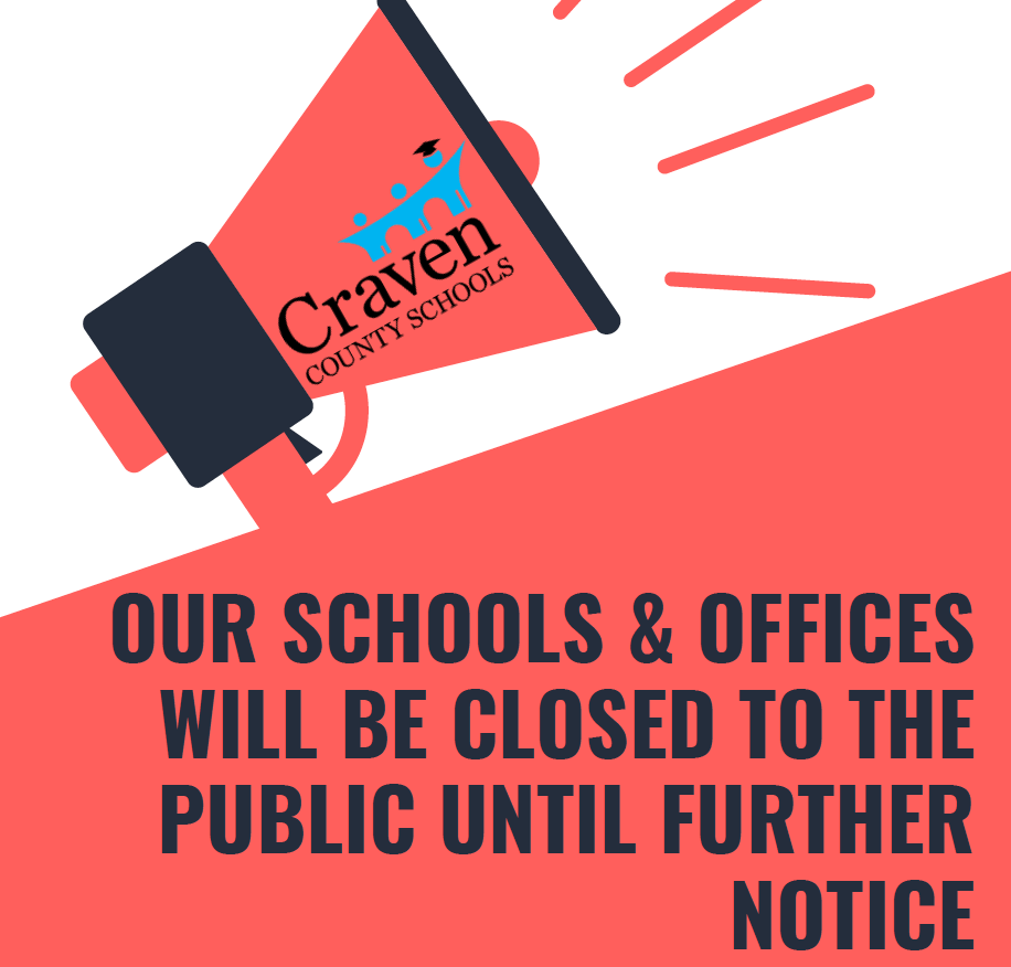 All School Buildings & Offices are Closed to the Public