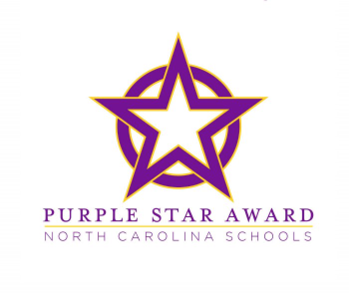 Twenty-One Craven County Schools Recognized with Distinguished Purple Star Award