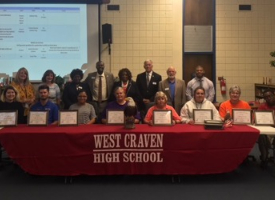 Crucial initiatives keep West Craven High moving forward