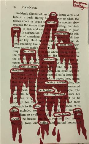 Blood Blackout Poetry